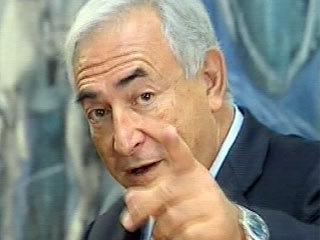 Французский политик Д. Стросс-Кан