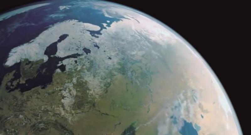 Русская цивилизация: вид из ближнего космоса